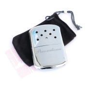 Bricheta Zippo personalizata Hand Warmer High Polish Chrome