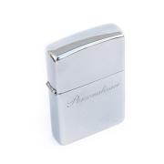 Bricheta Zippo personalizata Classic High Polish Chrome